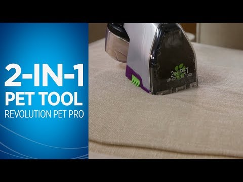 ProHeat 2X® Revolution™ Pet Pro Using 2-in-1 Pet Upholstery Tool Video