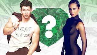 WHO'S RICHER? - Nick Jonas or Alicia Keys? - Net Worth Revealed!