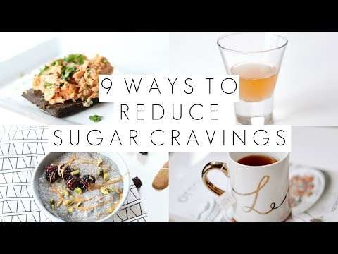 9 Ways to Reduce Sugar Cravings
