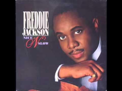 """FREDDIE JACKSON """"Nice ´N´ Slow"""""""