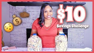 $10 SAVINGS CHALLENGE | 6 Month Savings Challenge | 52 Week Savings Challenges