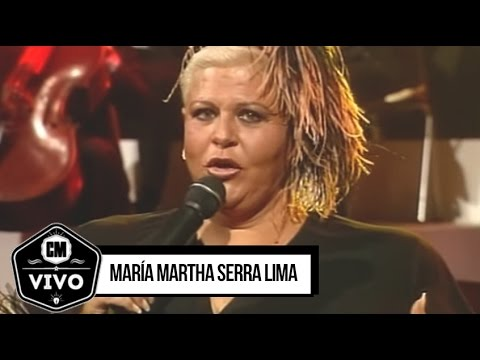 María Martha Serra Lima video CM Vivo 1999 - Show Completo