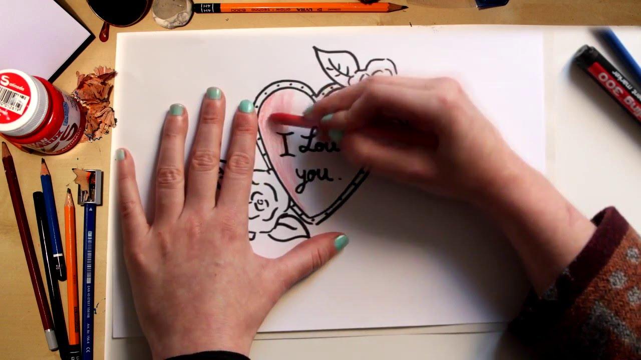 Como dibujar un Corazón para