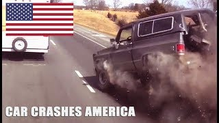 CAR CRASHES IN AMERICA 2017 | BAD DRIVERS USA #11 | NORTH AMERICAN DRIVING FAILS