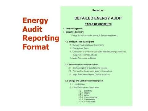 Energy auditor exam preparation - Energy Management & Audit ...