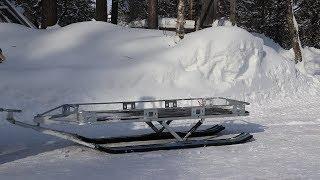 Финские сани для рыбалки разборные атом