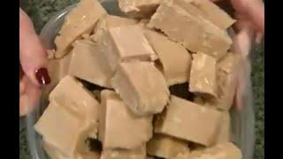 peanut butter fudge recipe without powdered sugar