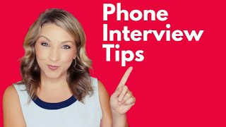 BEST Phone Interview Tips | How to prepare for a phone interview