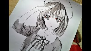 【Drawing Tutorial】How To Draw A Manga Girl (Saekano)
