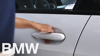 How to unlock all doors using Comfort Access – BMW How-To