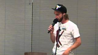 Bookworm Bakery & Cafe Presents Comedy Open MIC 06 08 2012 Video 7