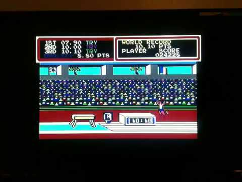 HYPER SPORTS LONGPLAY C64 1985 IMAGINE KONAMI COMMODORE 64 CLASSIC RETRO VIDEO GAME