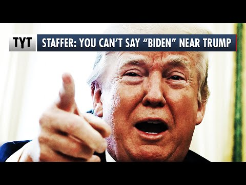 "Snowflake Trump Freaks Out If You Say ""Biden"""