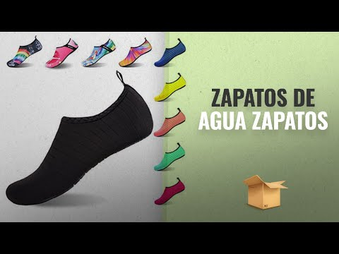 10 Mejores Zapatos De Agua 2018: Womens and Mens Kids Water Shoes Barefoot Quick-Dry Aqua Socks for