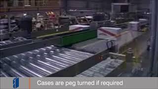 Fibre King Machine: CP50 Palletiser - Cases of Jars.