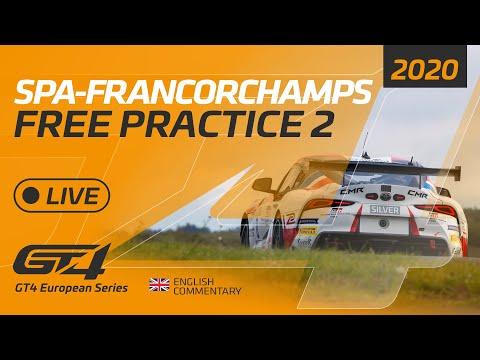 ト-タル・スパ24時間 GT4 フリープラクティス2のライブ配信動画