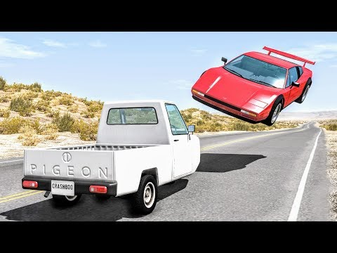 High Speed Traffic Crashes #13 - BeamNG Drive | CrashBoomPunk