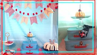Airplane Theme Birthday Party // First Birthday