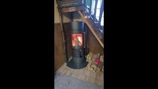 Аккумуляционная печь Haas+Sohn Ovalis Grande , каминофен від компанії House heat - відео 2