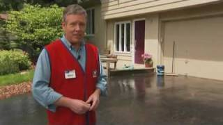 Lowe's and QPR Professional Grade Driveway Sealer Instructional  Video