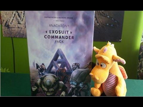 Anachrony - Exosuit commander pack - Unboxing