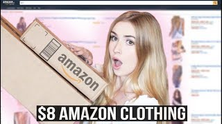 TESTING CLOTHES UNDER $8 FROM AMAZON?! | Mia Maples