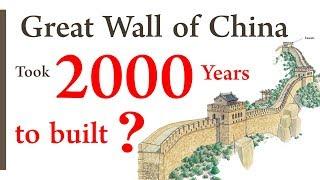Great Wall of China took 2000 years to build? | Repost