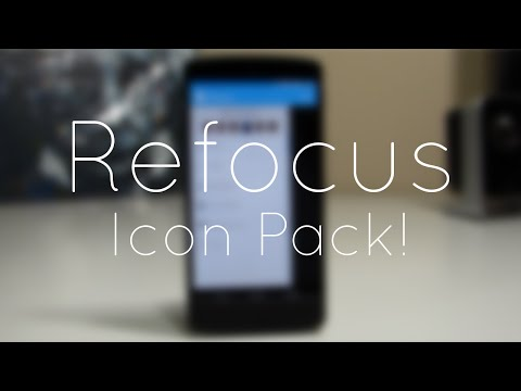 Video of Refocus - Icon Pack