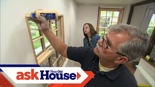 How To Install Interior Window Trim | Ask This Old House