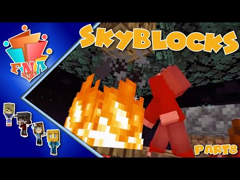 Fire on the Skyblocks Island - Episode 9