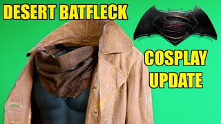 Cosplay Update: Desert Batfleck- Part 1: Trench Coat and Scarf