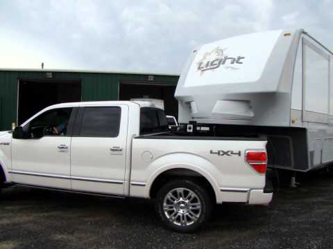 Can A  F Short Bed Pull A Fifth Wheel