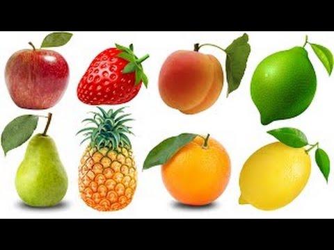 Bé học tiếng Anh qua các loại quả
