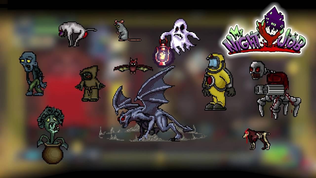 My Night Job, jeu d'arcade mêlant l'action et l'horreur, est annoncé sur PS4
