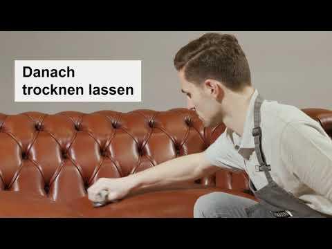Kai Wiechmann: Tutorial Lederpflege - Chesterfield Sofa