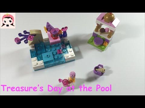Vidéo LEGO Disney 41069 : La journée à la piscine de Trésor