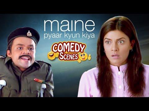 Rajpal Yadav Comedy (राजपाल यादव कॉमेडी) - Maine Pyaar Kyun Kiya - Shemaroo Bollywood Comedy
