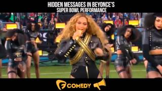 Hidden Messages In Beyonce's Super Bowl Performance - Illuminati Confirmed?