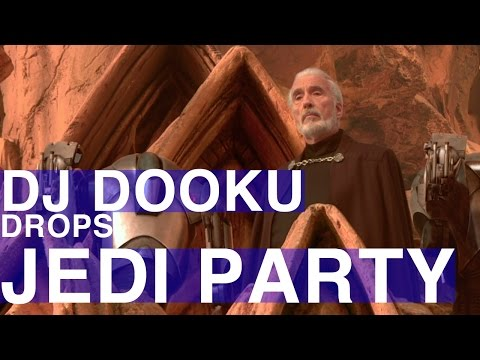 DJ Dooku Drops JEDI PARTY