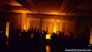Dance Floor Lighting with Haze by Karma Event Lighting