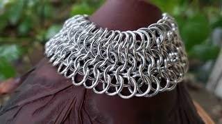 How To Chainmail Bracelet:  Euro 6in1