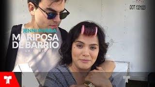 Mariposa De Barrio | Un Día De Grabación Con Samadhi Zendejas | Telemundo