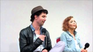 Эндрю Ли Поттс, Andrew Lee Potts & Hannah Spearritt talk Primeval (and socks!) (Part 2)