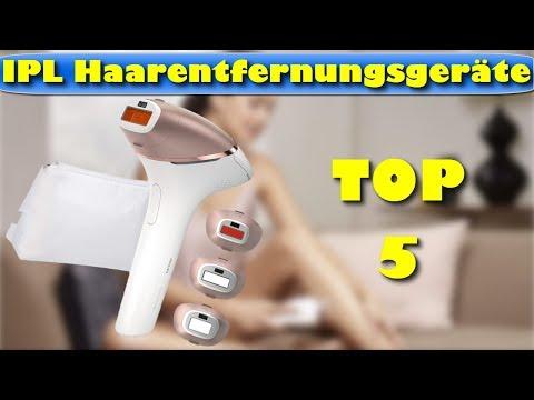 Die 5 besten IPL Haarentfernungsgeräte - Welches ist das beste IPL Haarentfernungsgerät?