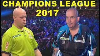 van Gerwen v Taylor 2017 Champions League of Darts
