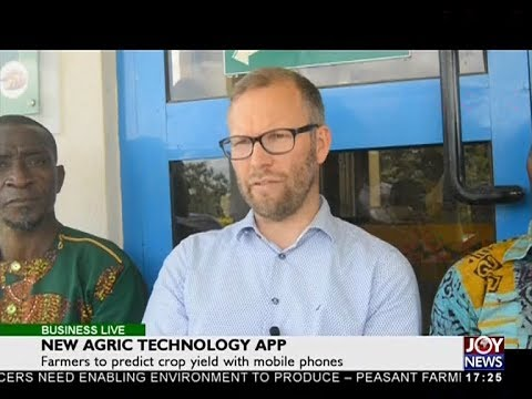 New Agric Technology App - Business Live on JoyNews (3-5-18)