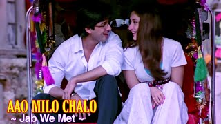 Aao Milo Chalo Full Song : Jab We Met   Shahid   - YouTube