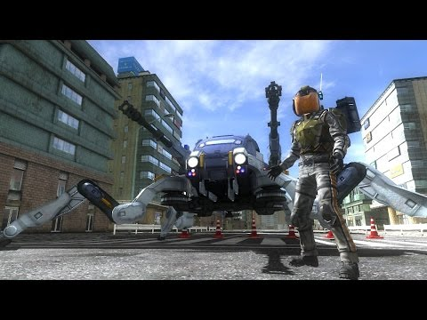 Видео № 0 из игры Earth Defense Force 4.1: The Shadow of New Despair [PS4] Хиты PlayStation