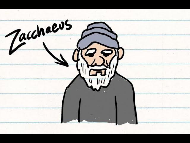 Video Pronunciation of Zacchaeus in English