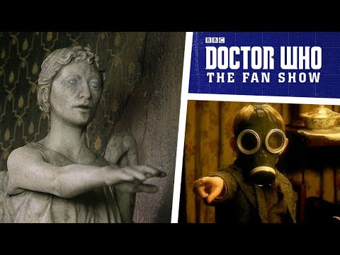 Steven Moffat on writing for Doctor Who, Weeping Angels & MORE!